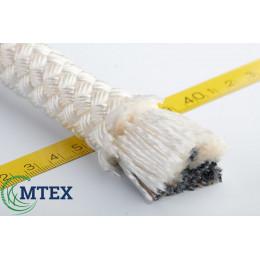 Шнур капроновый плетёный Ø10мм. 20метров.